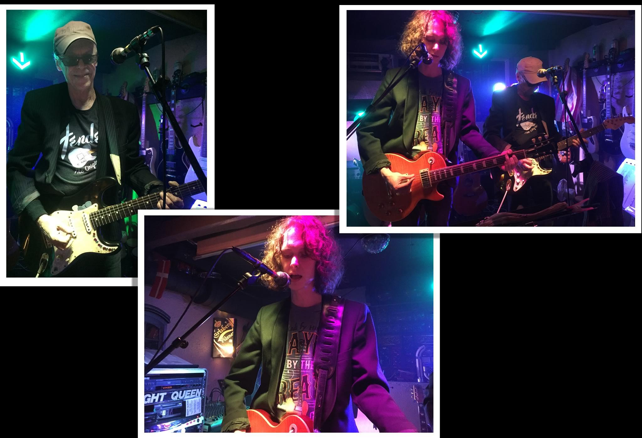 Fotos fra live gig